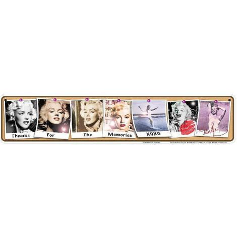 Marilyn Memories Tin Sign
