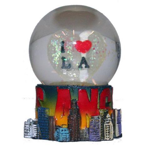 I Love Los Angeles Mini Snow Globe
