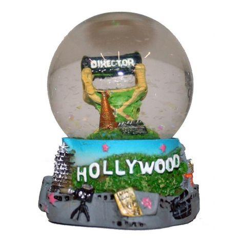 Hollywood Director Chair Snow Globe