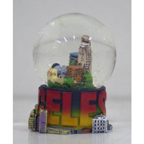 Los Angeles Snow Globe