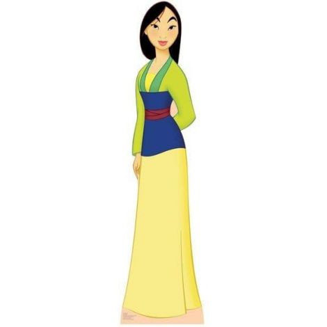 Disney Princesses Mulan Cutout #772