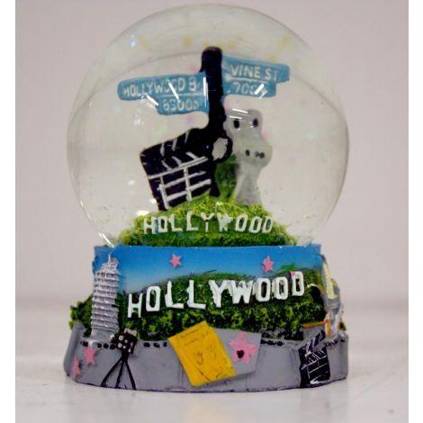 Hollywood & Vine Street Snow Globe