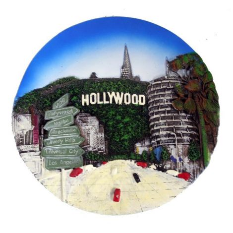 Hollywood Decorative Plate