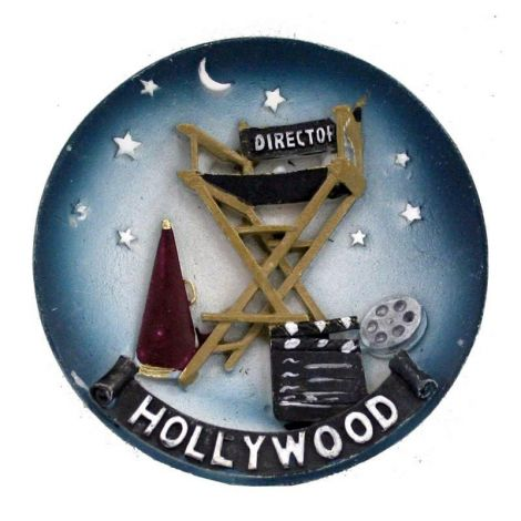 Hollywood Decorative Magnet Plate