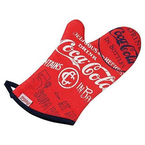 Red Coca-Cola Mitten