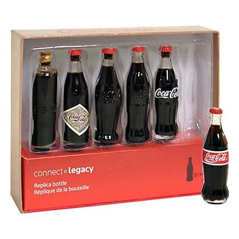 Coca-Cola Bottle Evolution Mini-Set