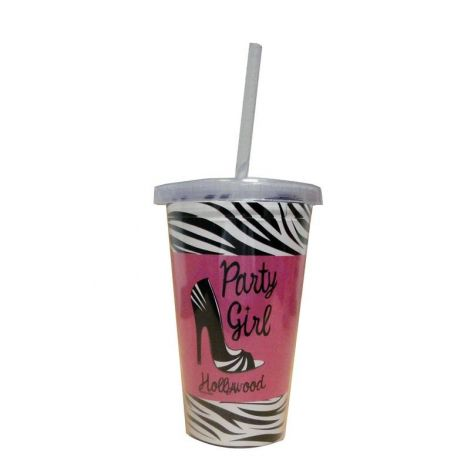 Hollywood Party Girl Travel Cup