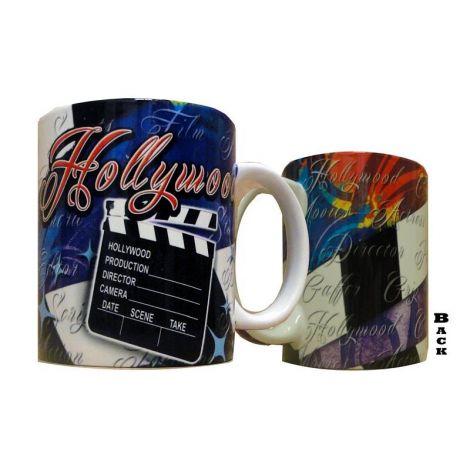 Multi Color Hollywood Coffee Mug