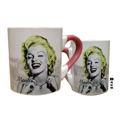 Green Hair Marilyn Coffee Mug
