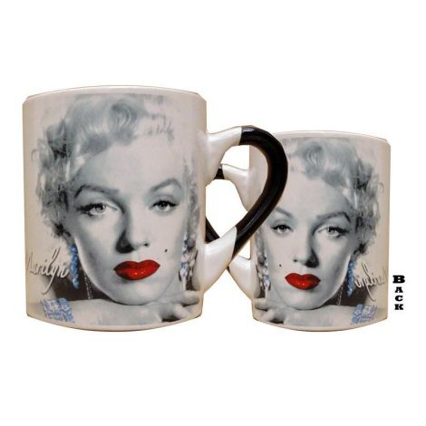 Red Lipstick Marilyn Coffee Mug