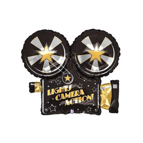 Movie Camera Shape Foil Balloon
