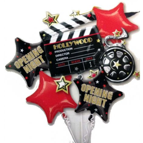 Bouquet Hollywood stars 5 Balloon set