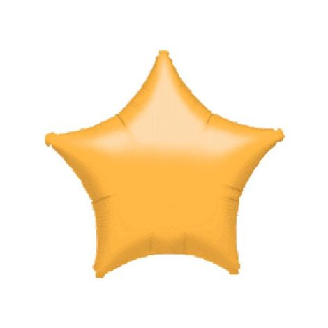Gold Metallic Star Balloon