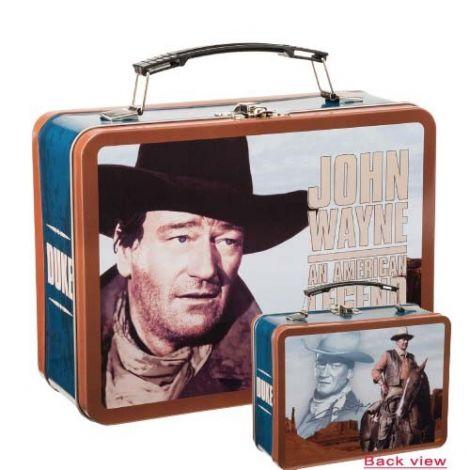 John Wayne American Legend Large Tin Tote