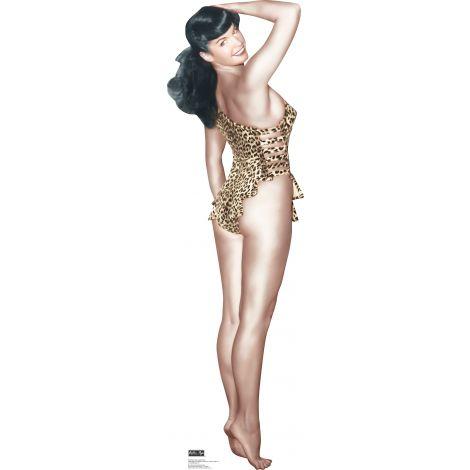 Bettie Page Leopard Bikini #1609