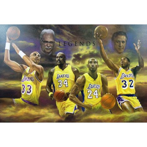 Laker Legends Basketball