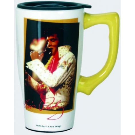 Elvis Jumpsuit Travel Mug