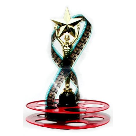 Trophy Star Centerpiece(Red Reel)