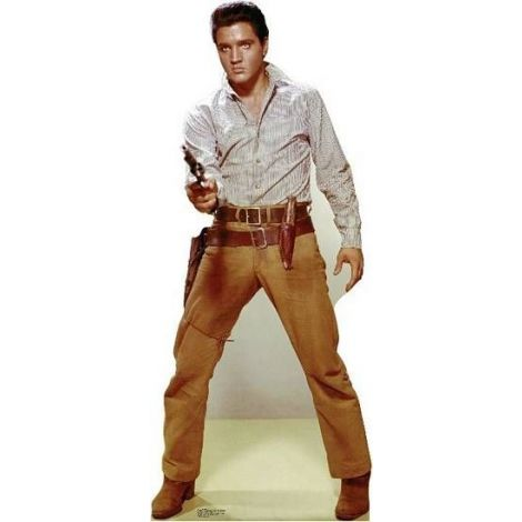 Elvis Gunfighter, Lifesize cardboard cutout