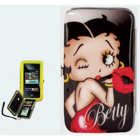 Betty Boop Kiss Phone Wristlet