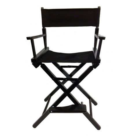 Black Directors Chair (low)
