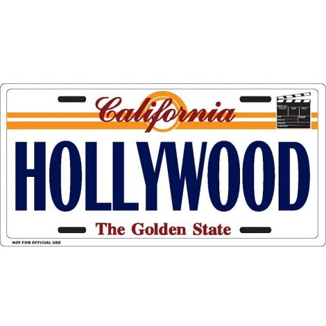 Hollywood Clapboard icon License Plate
