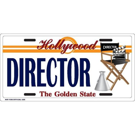 Director License Plate