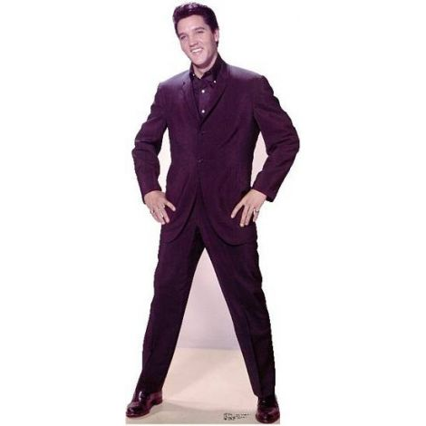 Elvis Presley hands on hip Lifesize cardboard cutout #843