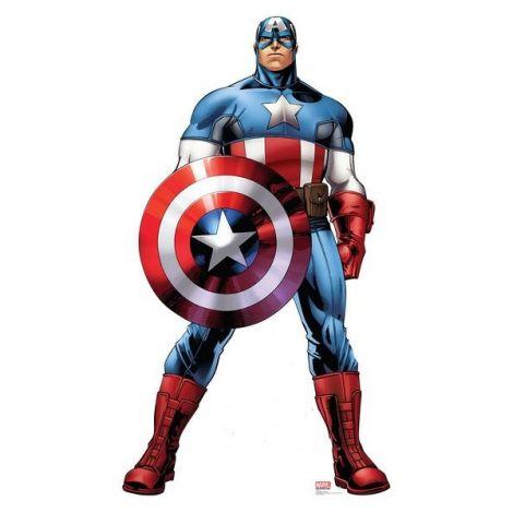 Captain America Avengers Assemble Cardboard Cutout #2367