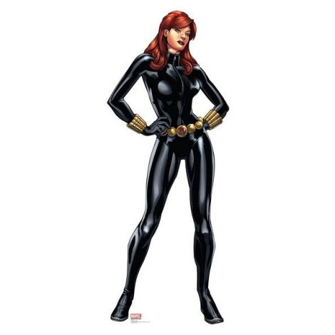 Black Widow Avengers Assemble Cardboard Cutout #2370