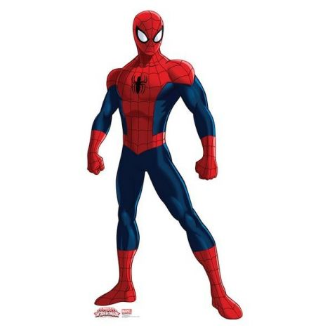 Ultimate Spider-Man Cardboard Cutout #1593
