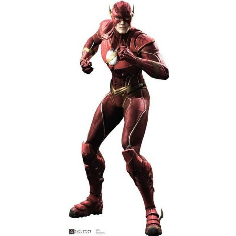 Flash In Injustice Gods Among Us Cardboard Cutout #1680