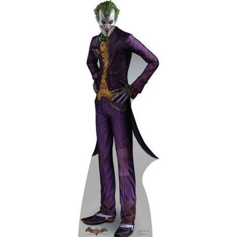 The Joker Arkham Asylum Cardboard Cutout #1691