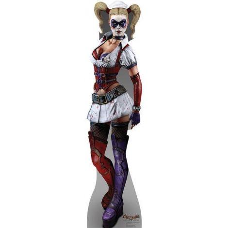 Harley Quinn Arkham Asylum Game Cardboard Cutout #1693