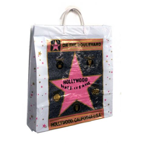 Walk of Fame Plastic Bag