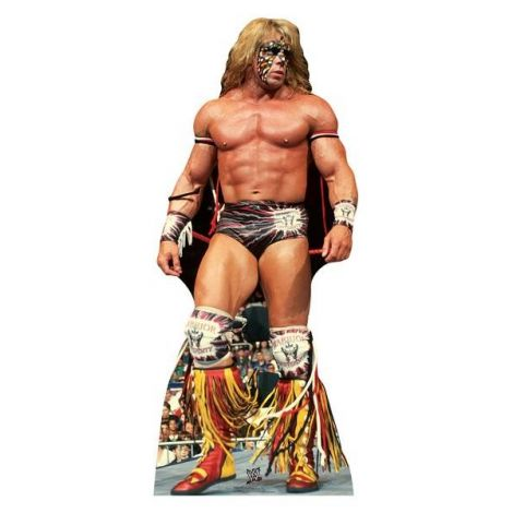 Ultimate Warrior WWE Cardboard cutout *1688