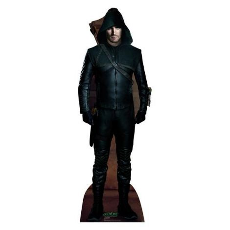 Green Arrow From Arrow Cardboard cutout #1703