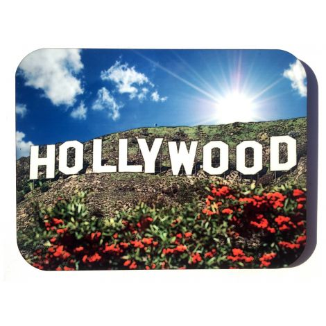 Large Hollywood Sign Magnet