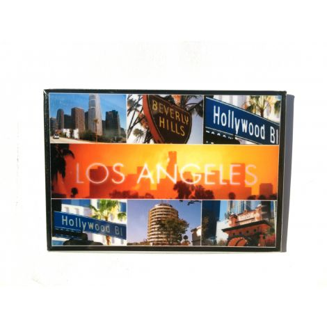 Los Angeles Collage Picture Magnet