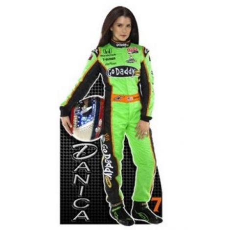 NASCAR Danica Patrick indy Cardboard cutout
