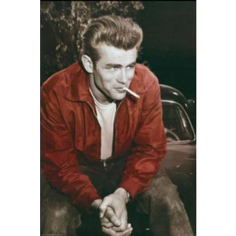 James Dean Red Jacket Poster