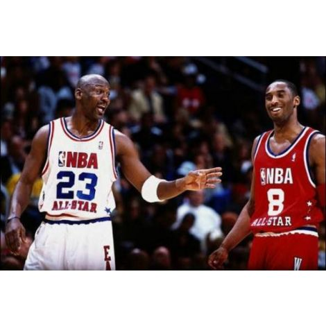 Kobe and Jordan All Star Game