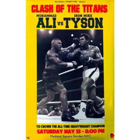 Tyson Vs Ali Poster