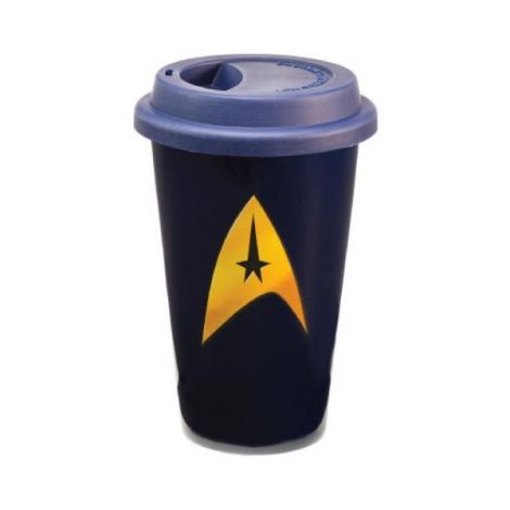 Star Trek® 12 oz. Double Wall Ceramic Travel Mug