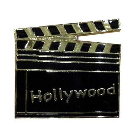 Black Hollywood Clapboard magnet