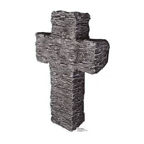 Cross Tombstone, Lifesize cardboard cutout #807