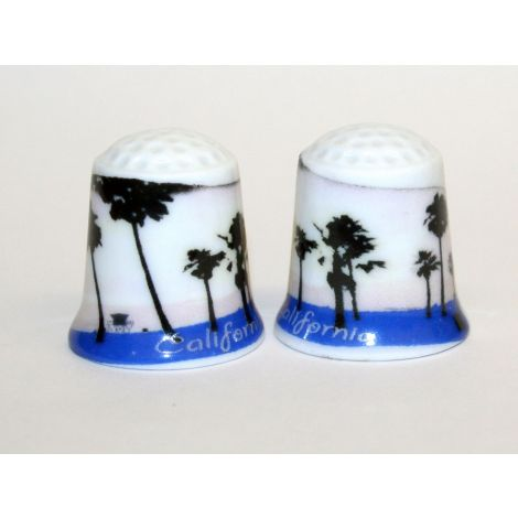 California Palm Tree Thimble