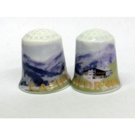 California Mountains Thimble