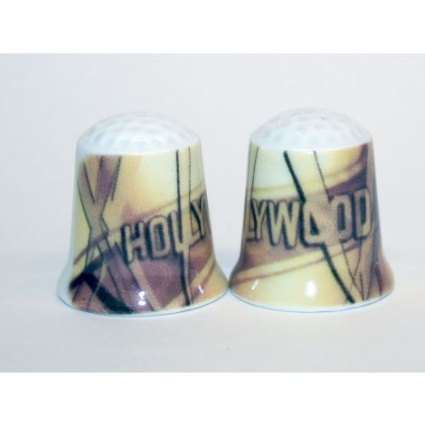 Hollywood Film Strip Design Thimble