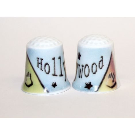 Hollywood Stars Design Thimble
